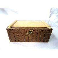 China Handmade Wooden Champagne Box For Gift Packaging , OEM ODM Service on sale
