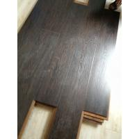 China Class32 ac4 8.3mm HDF small emboss square edge wax laminated floor on sale