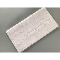Quality Smooth Tough Wood Laminate Wall Panels , Interior Pvc Cladding Panels Wooden Design for sale