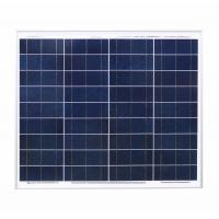 Quality Aluminum 60w Crystalline Solar Panel 21.6v Circuit Voltage Low - Iron Glass for sale