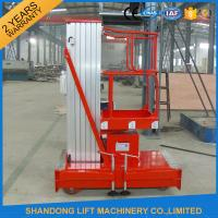 China Mobile Hydraulic Aerial Work Platform Lift With High Strength Aluminum Alloy Material on sale
