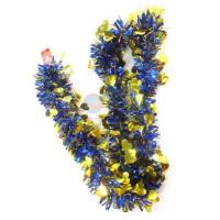 Quality Multicolor Plastic Christmas Garlands With Heart for sale