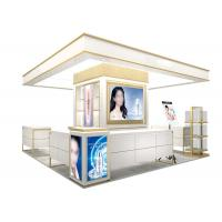 Buy Easy Install Wooden Cosmetic Display Case With Multi Color LED Lighting at wholesale prices