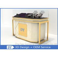 Quality Lockable Retail Jewelry Store Jewelry Display Counter With OEM Logo for sale