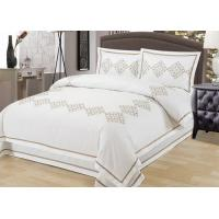 Quality Elegant Embroidered Modern Duvet Covers And Shams 4Pcs Twin Bed Duvet Covers for sale