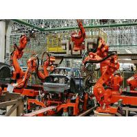 Quality Industrial Fully Automated Welding Production Line PLC Control For Car Industry for sale