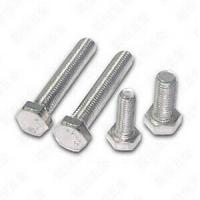 Quality Hexagon Head Stainless Steel Bolts And Nuts For Machine A4 70 Bolt DIN 933 for sale