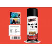 Quality Engineering Orange Color High Gloss Spray Paint For Advertising Industry for sale