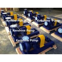 Quality IHF Fluoroplastic liner centrifugal pump for sale
