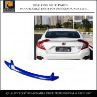 Quality New Performance Parts Car Spoiler for 10th Generation Honda Civic for sale