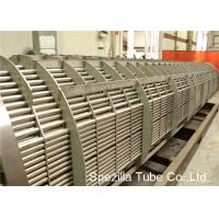 Quality TIG Welding SS Pipe Stainless Steel Heat Exchanger Tube , Bright Annealed Stainless Steel Tube Bead Removed for sale