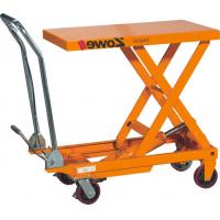 Quality Low Noise Manual Lift Table , 750kg Electric Hydraulic Scissor Lift Table Truck for sale