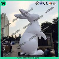 Quality White Inflatable Rabbit,Inflatable Rabbit Cartoon,Event Inflatable Rabbit for sale