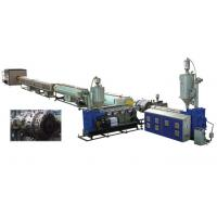 Quality Water Supply PVC Pipe Extrusion Machine Conical Twin - Screw Extruder for sale