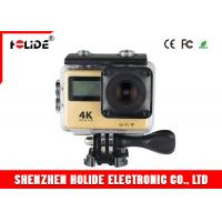 Quality Wireless Professional Sports Camera With Touch Screen And Fish Eye Lens for sale