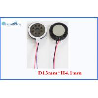 Buy cheap 8 Ohm Mini Mylar Speaker 13mm 0.5W Wire 86dB Speaker for Mobilephone from wholesalers