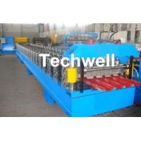 Quality IBR Roofing Sheet Roll Forming Machine / IBR Panel Forming Machine For Making Roof Wall Cladding for sale