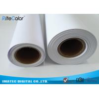 Quality 30M Polypropylene Inkjet Synthetic Paper , Matte Water Resistant Printer Paper Roll for sale