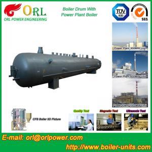 Quality Oil Industry Heating Boiler Mud Drum , Compact ASTM Mud Drum In Boiler for sale