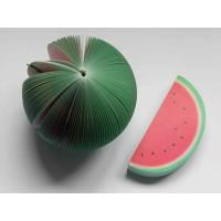 Quality Novelty Fruit Notepad / Watermelon Notepad / Fruit Memo Pad for sale