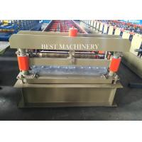 Quality Roofing Cladding Sheet Making Machine / Cold Roll Forming Machine Easy Operate for sale
