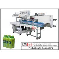 Quality Touch Screen Control Bottle Packing Machine PE Film Shrink Sleeve Packaging Machine for sale