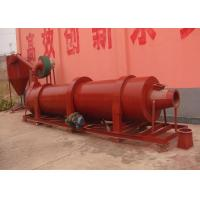 Quality High Effective Large Capacity Rotary Drum Dryer With Cylindrical Rotating Body for sale