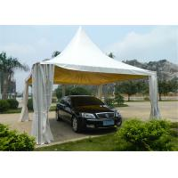 Buy 4M * 4M Pagoda Shape Event Tent With 80-100km/h With Wooden Floor at wholesale prices