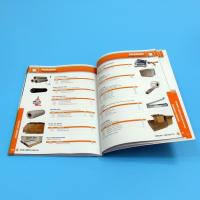 Quality Paper / Paperboard Perfect Binding Catalogue Printing Service Customized A4 / A3 / A5 for sale