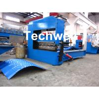 Quality Auto Crimping Cold Roll Forming Machine , Arch Metal Roofing Forming Machine for sale