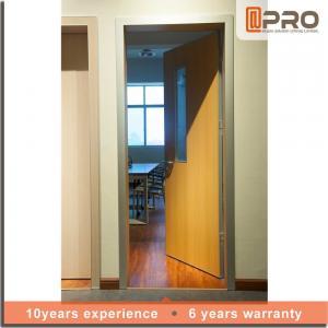 Modern Design Solid Wood Internal Doors High Strength Durable Performance