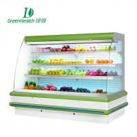Buy cheap Upright Cold Fan Cooling Multideck Vegetable Chiller Showcase 380v Remote System from wholesalers