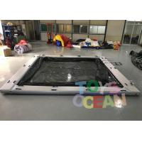 Quality Commerical Gaint Inflatable Water Floating Sea Pool With Net For Yacht for sale