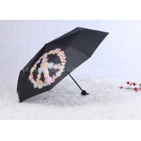 Buy Manual Open Windproof Folding Umbrella Color Change Umbrella Tri Fold at wholesale prices