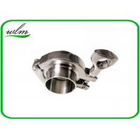 Quality BS4825-3 Tri Clamp Coupling Sanitary Stainless Steel Quick Clamp Tube Fittings for sale