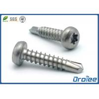 Quality Stainless Steel 410 Torx Star Drive Pan Head Self Drilling Screws for sale