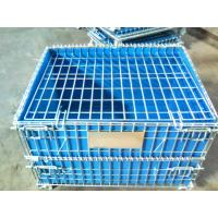 China PP Board Protection Cover Wire Mesh Container For Small Parts Completeness on sale