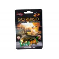 Quality GoRHINO Herbal Male Enhancement Capsules For Preventing Erectile Dysfunction for sale