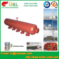 Quality Oil-fired ISO9001 SA516GR70 Boiler mud drum with Natural Circulation for sale