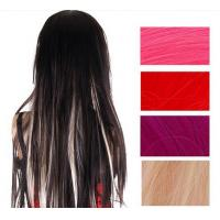 Quality Ombre Synthetic Hair Extensions , Synthetic One Piece Hair Extensions for sale
