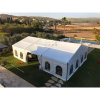 Quality 12mX21m Outdoor Event Tents Popular Waterproof  Fiire Retardant  White With Windows for sale