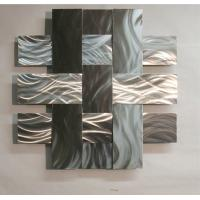 Quality ODM Modern Abstract Stainless Steel Wall Sculpture For Home / Gallary Decoration for sale