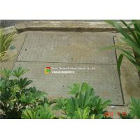 China LTA Floor Trough Drain Grates , Galvanised Drain Cover Security Design on sale