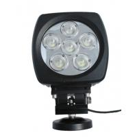 Buy cheap 60W high power Led vehicle work light with Flood /Spot beam 6 inch for Off road vehicle from wholesalers