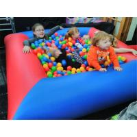 Quality Safety Funny Backyard Small Kids Inflatable Ball Pit Pool For Party for sale
