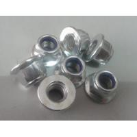 Quality Zinced Go Kart flange nylon lock nut / stainless steel bolts & nuts for sale