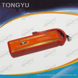 Quality RC Racing Boat Lipo RC Battery Packs , Orange Lipo Battery Pack Custom for sale