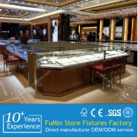 Quality jewelry display manufacturer watch display showcase for sale
