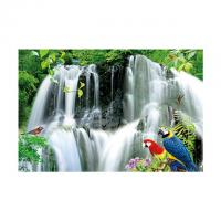 Quality Large Size PET 3D Lenticular Printing Poster Of Waterfall Scenery Theme for sale