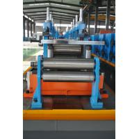 Quality Full Automatic ERW Pipe Mill Production Line Directly Forming 63mm Pipe Diameter for sale